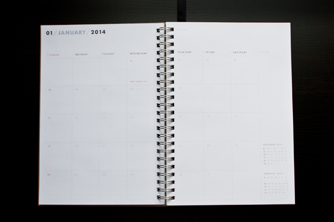 one fine dae: 2014 planner